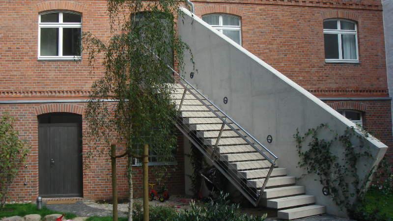 Aussentreppen Lang Bnb Potsdam Unbegrenzte Moglichkeiten Mit Beton