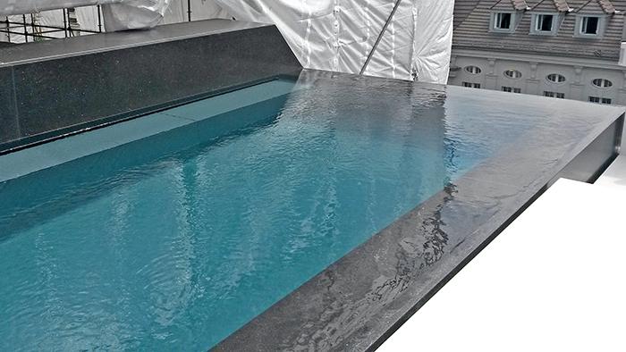 exklusive dachterrasse mit pool bnb potsdam unbegrenzte m glichkeiten mit beton. Black Bedroom Furniture Sets. Home Design Ideas