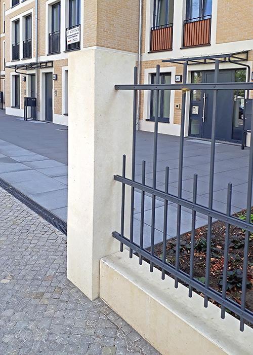 Zaunanlage, Kurfürstenstraße
