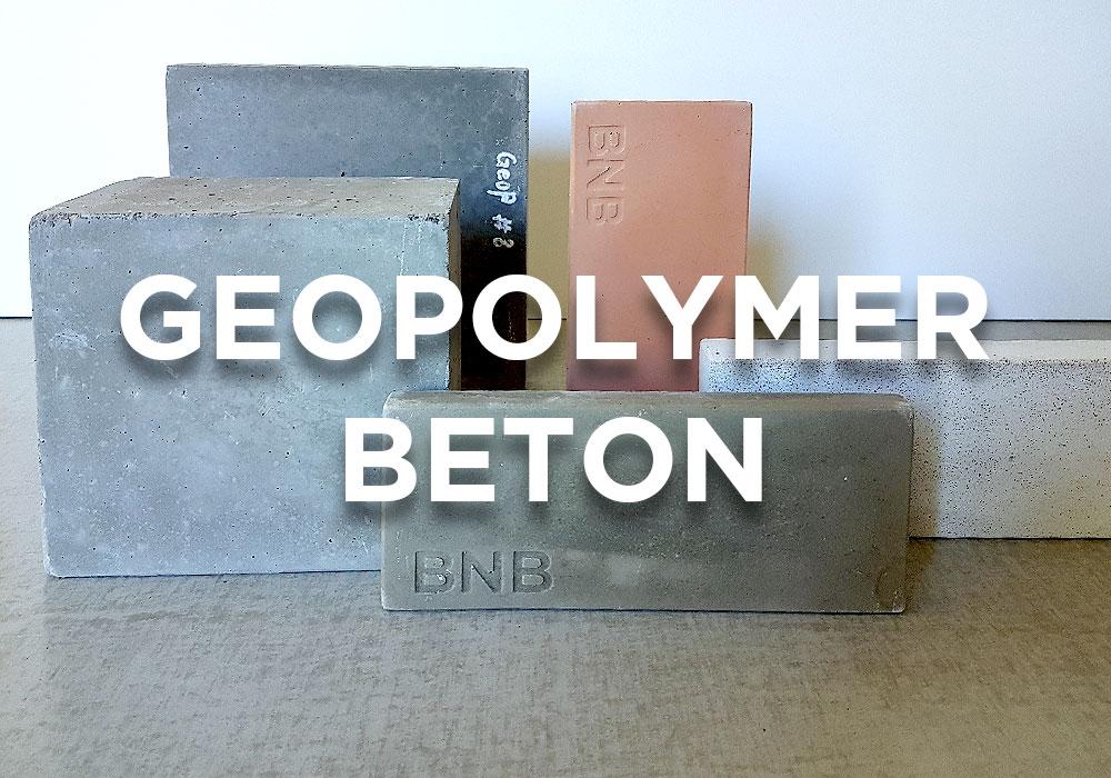 Geopolymerbeton sieht aus wie normaler Beton